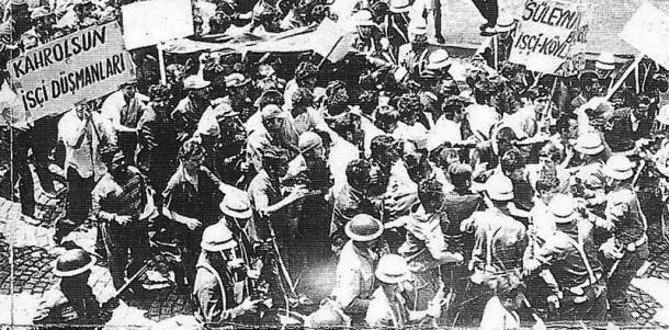 İşçilerin ilk Gezi'si; 15-16 Haziran eylemleri…