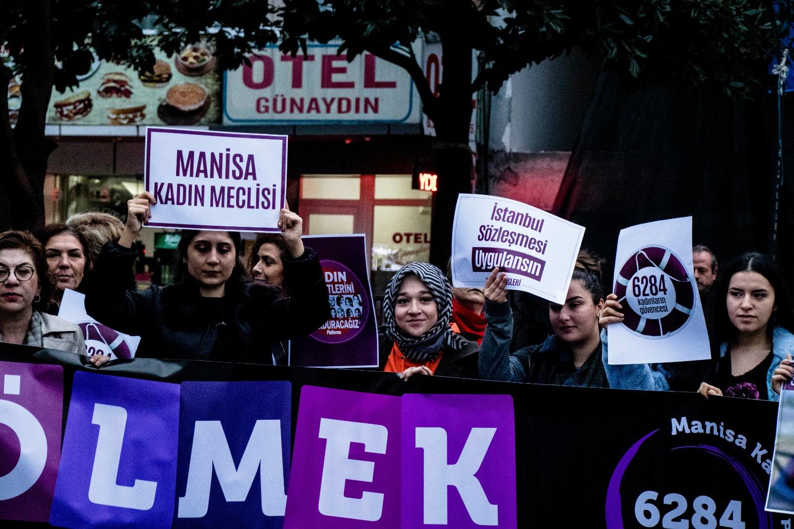 Manisa Kadın Eylemi – 25 Kasım 2019