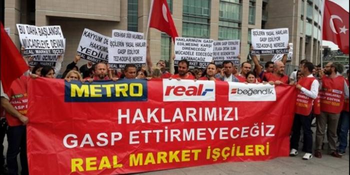 Real Market işçileri: Hak mücadelesi 27 aydır sürüyor