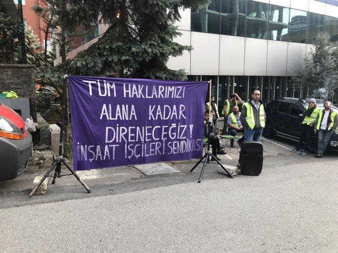 Tekyol Plus işçileri direnişinin 16. gününde