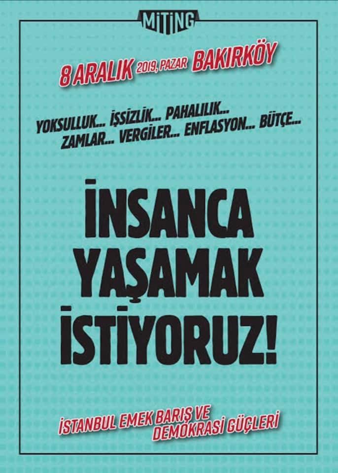 8 Aralık 2019 Pazar, Bakırköy
