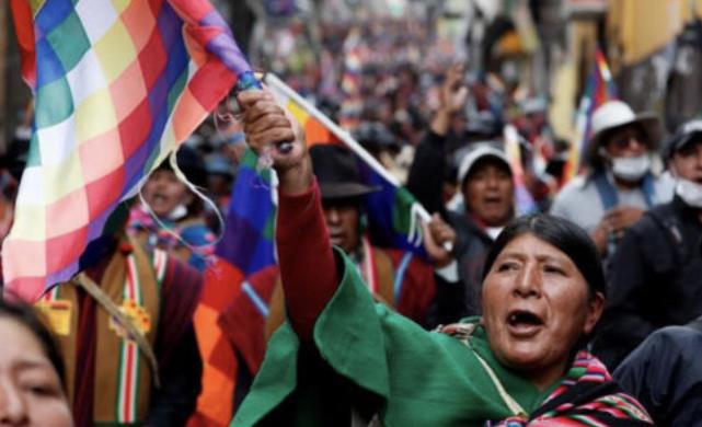 Bolivya'da Askeri Darbe ve Halkın Direnişi