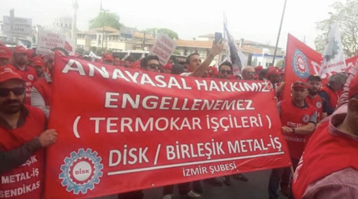 Termokar işçileri gasp edilen hakkını geri aldı!