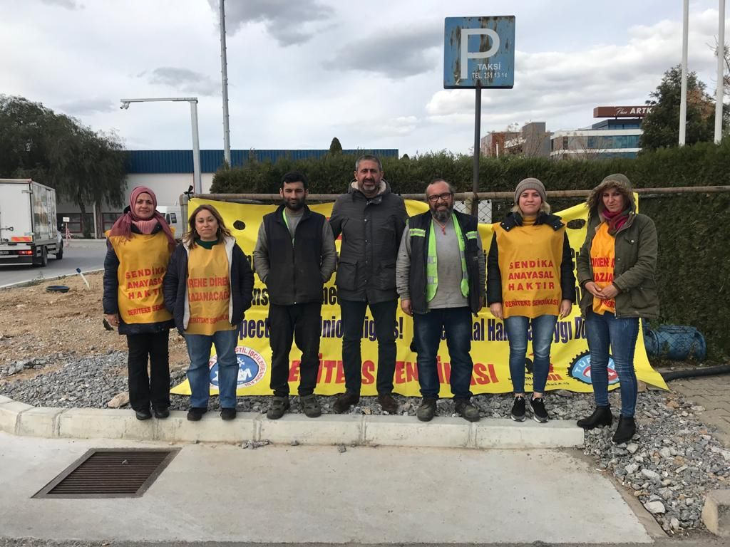 İzmir SF Trade Tekstil Direnişi