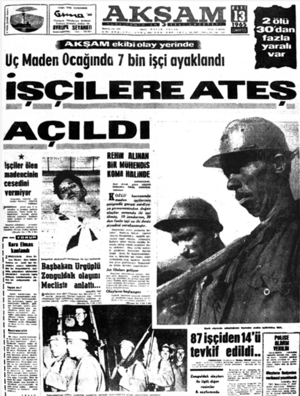 Satılmış Tepe ve Mehmet Çavdar'ın anısına: Kozlu 1965 – Can Şafak