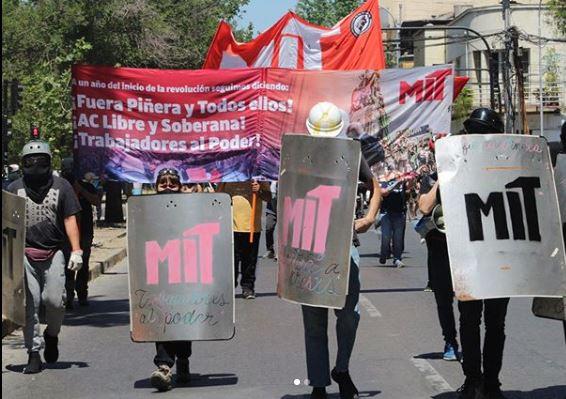 Şili İsyanın Yıldönümünde Devrimci Örgüt-Geçiş Talepleri İkilemenin Doğrulanması