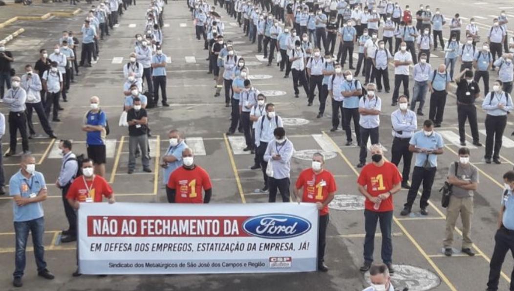 Brezilya'da Ford'un Fabrikalarını Kapatma Kararına Karşı Mücadele